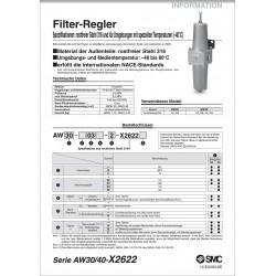 AW-X2622 - Filter-Regler...